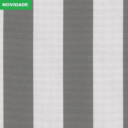 Yacht Stripe Charcoal Grey